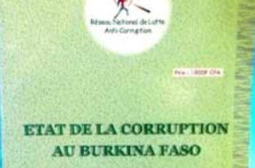 Article : Echange de « grin » : La corruption, une gangrène qui freine le développement du Burkina