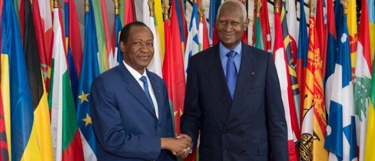 Article : Burkina Faso : Blaise va-t-il prendre la main tendue de Diouf ?