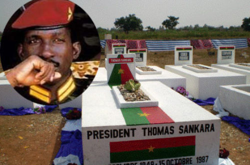 Article : Au Burkina, l'on s'apprête à l'identification du corps de Thomas Sankara