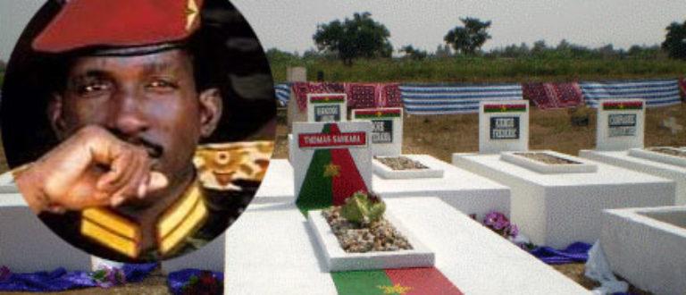 Article : Au Burkina, l'on s'apprête à l'identification du corps de Thomas Sankara