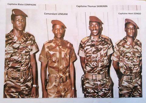 Les quatre hommes forts de la révolution d'août 1983
