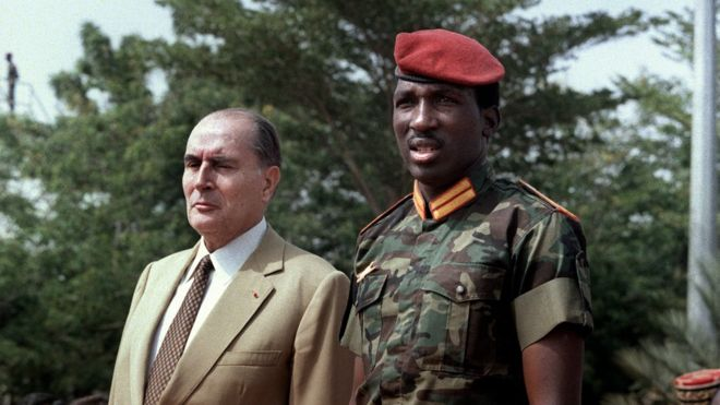 Ph/Daniel Janin La France a souvent été citée à tort ou à raison dans l'assassinat du capitaine Thomas Sankara